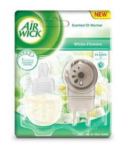 AIR WICK Electric kpl. Białe kwiaty
